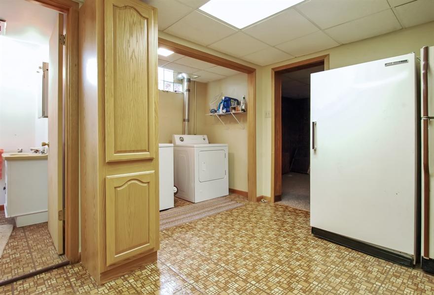Real Estate Photography - -514 E. Walnut Street, Horicon, WI, 53032 - Laundry Room