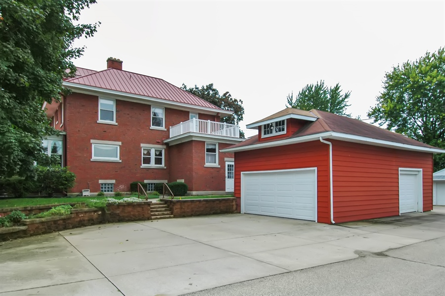 Real Estate Photography - -514 E. Walnut Street, Horicon, WI, 53032 - Rear View
