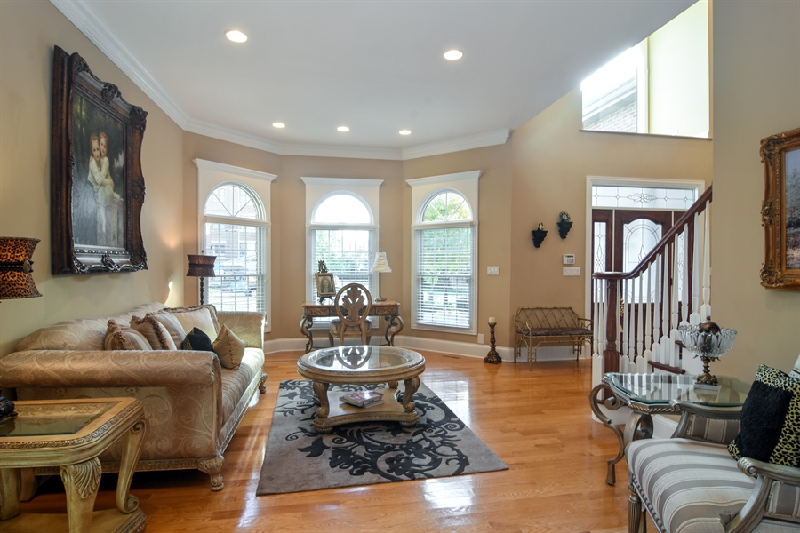 Real Estate Photography - 204 S Evergreen, Arlington Heights, IL, 60005 - Living Room