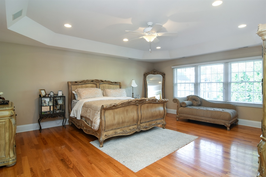 Real Estate Photography - 204 S Evergreen, Arlington Heights, IL, 60005 - Master Bedroom