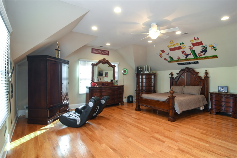 Real Estate Photography - 204 S Evergreen, Arlington Heights, IL, 60005 - 4th Bedroom