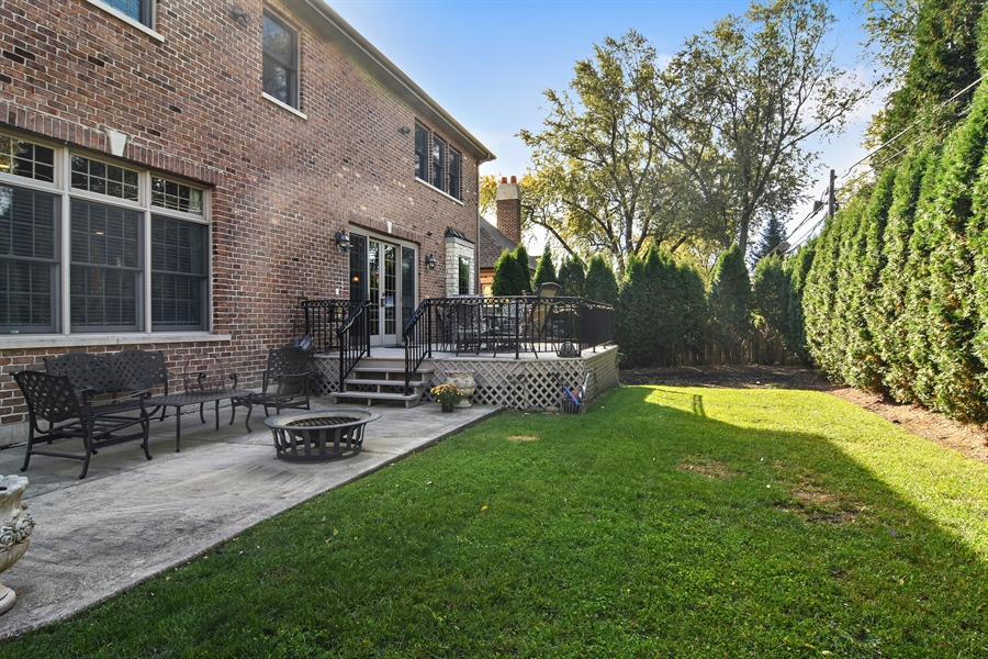 Real Estate Photography - 204 S Evergreen, Arlington Heights, IL, 60005 - Back Yard