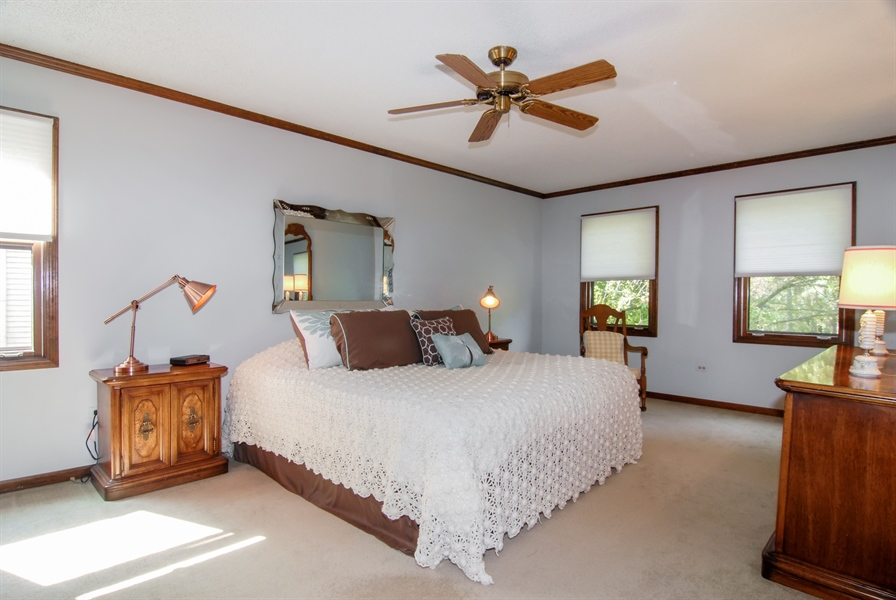 Real Estate Photography - 808 Biltmore Ct., Naperville, IL, 60563 - Master Bedroom