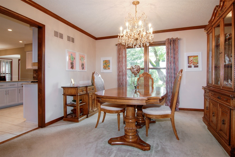 Real Estate Photography - 808 Biltmore Ct., Naperville, IL, 60563 - Dining Room