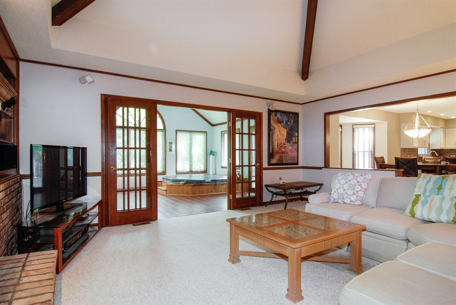 Real Estate Photography - 808 Biltmore Ct., Naperville, IL, 60563 - Family Room
