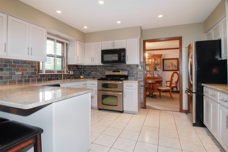 Real Estate Photography - 808 Biltmore Ct., Naperville, IL, 60563 - Kitchen
