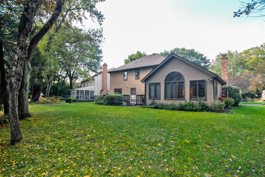 Real Estate Photography - 808 Biltmore Ct., Naperville, IL, 60563 - Rear View