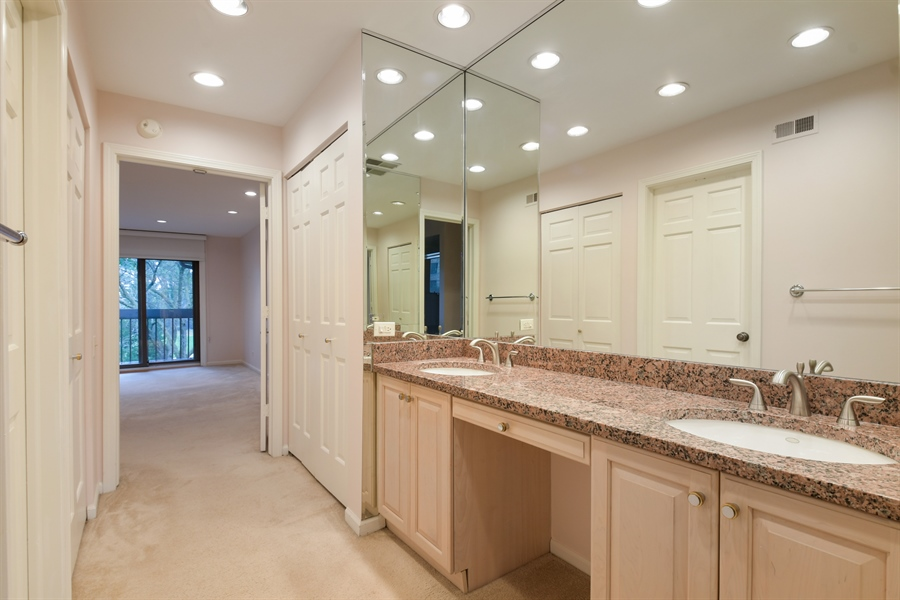 Real Estate Photography - 3873 Mission Hills Rd, Northbrook, IL, 60062 - Master Bathroom