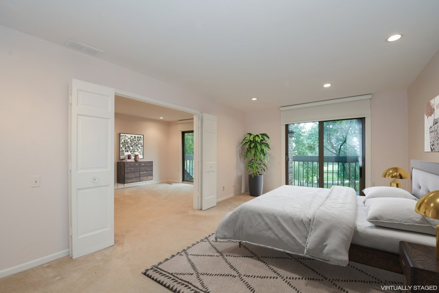 Real Estate Photography - 3873 Mission Hills Rd, Northbrook, IL, 60062 - Master Bedroom