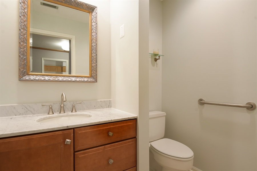 Real Estate Photography - 3873 Mission Hills Rd, Northbrook, IL, 60062 - Powder Room