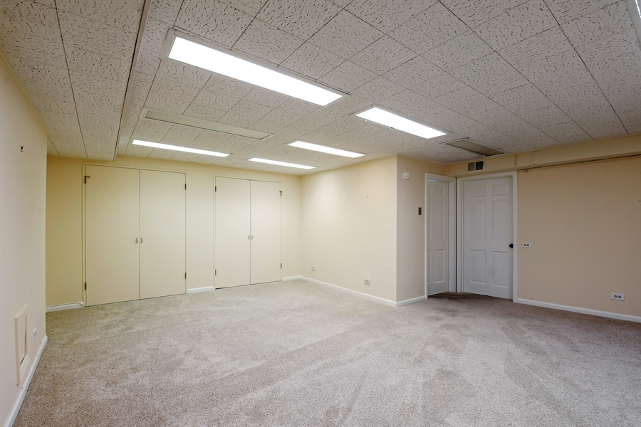 Real Estate Photography - 3873 Mission Hills Rd, Northbrook, IL, 60062 - Basement
