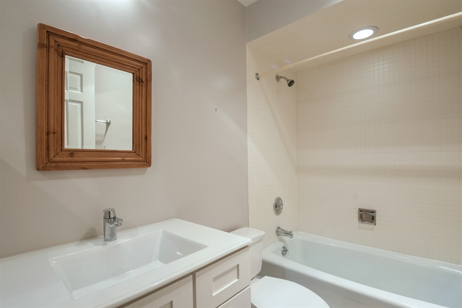 Real Estate Photography - 3873 Mission Hills Rd, Northbrook, IL, 60062 - 2nd Bathroom