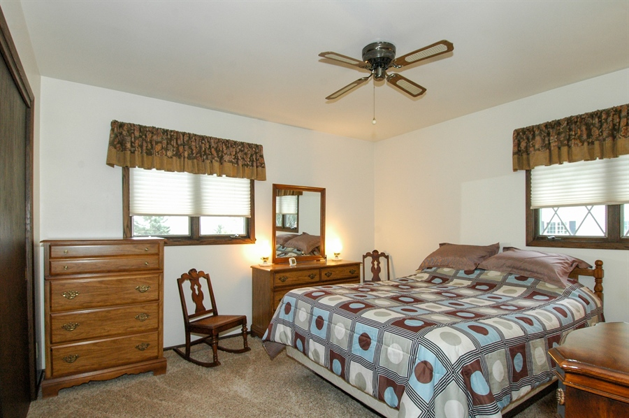 Real Estate Photography - W3872 German Road, Mayville, WI, 53050 - Bedroom