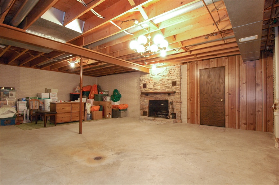 Real Estate Photography - W3872 German Road, Mayville, WI, 53050 - Basement