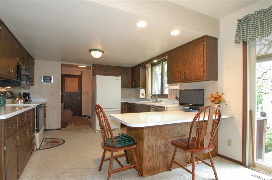Real Estate Photography - W3872 German Road, Mayville, WI, 53050 - Kitchen