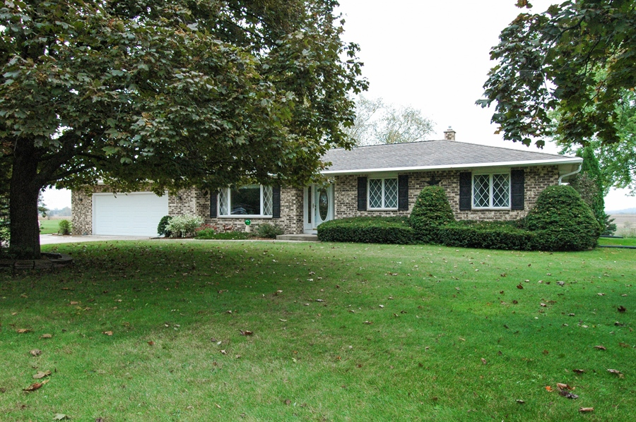 Real Estate Photography - W3872 German Road, Mayville, WI, 53050 - Front View