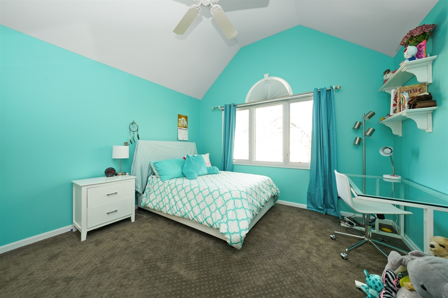 Real Estate Photography - 2253 Innisbrook, Aurora, IL, 60504 - 2nd Bedroom