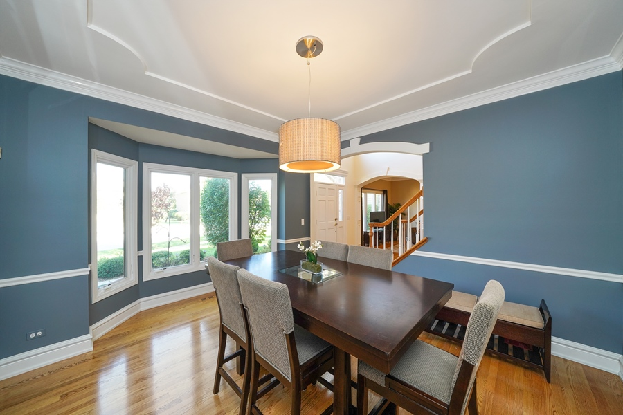 Real Estate Photography - 2253 Innisbrook, Aurora, IL, 60504 - Dining Room