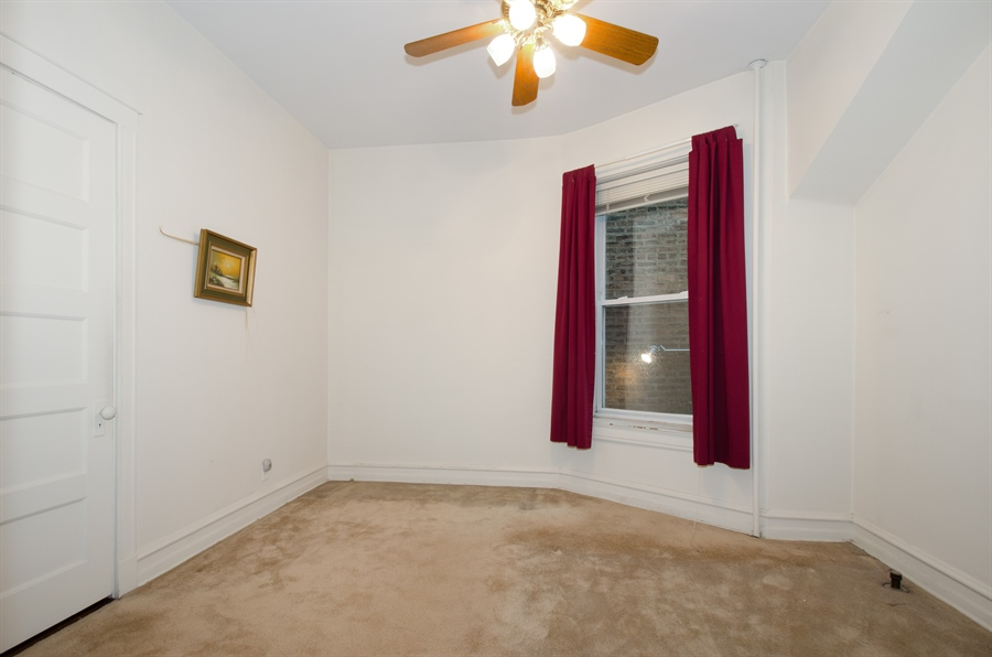 Real Estate Photography - 1225 W Addison, Chicago, IL, 60613 - 2nd Bedroom