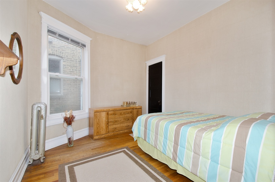 Real Estate Photography - 1225 W Addison, Chicago, IL, 60613 - 3rd Bedroom