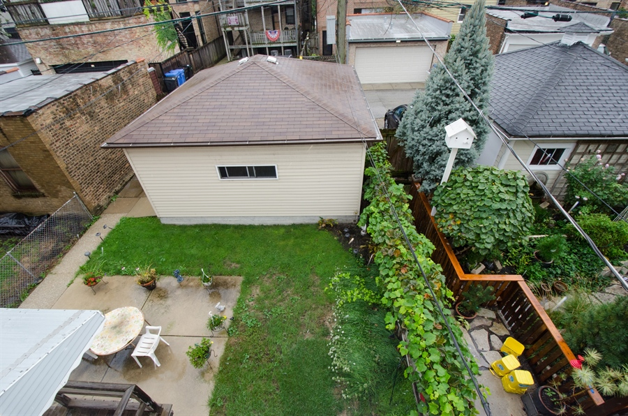 Real Estate Photography - 1225 W Addison, Chicago, IL, 60613 - Back Yard