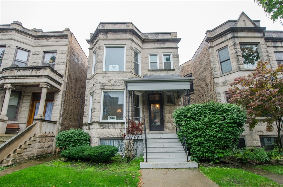 Real Estate Photography - 1225 W Addison, Chicago, IL, 60613 - Front View