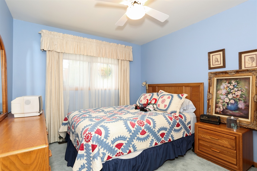 Real Estate Photography - 6742 Eagle Dr., Tinley Park, IL, 60477 - Bedroom 2