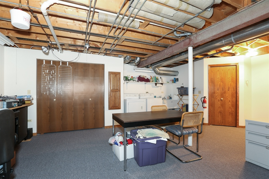 Real Estate Photography - 6742 Eagle Dr., Tinley Park, IL, 60477 - Basement