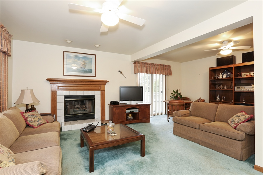 Real Estate Photography - 6742 Eagle Dr., Tinley Park, IL, 60477 - Family Room