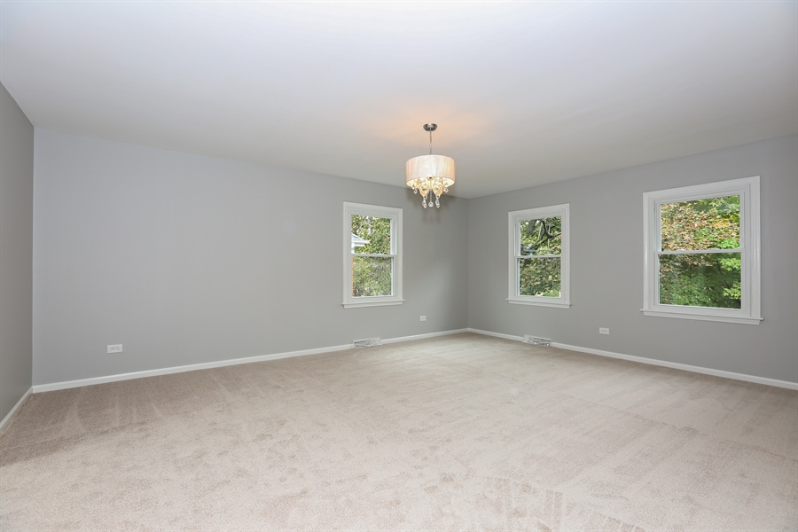 Real Estate Photography - 9 Hamill Lane, Clarendon Hills, IL, 60514 - Master Bedroom