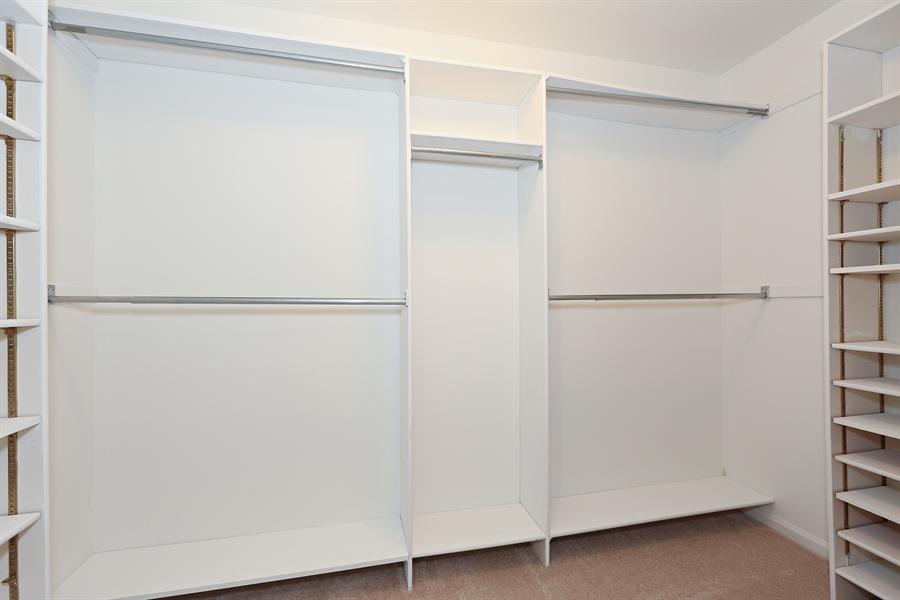 Real Estate Photography - 9 Hamill Lane, Clarendon Hills, IL, 60514 - Master Bedroom Closet