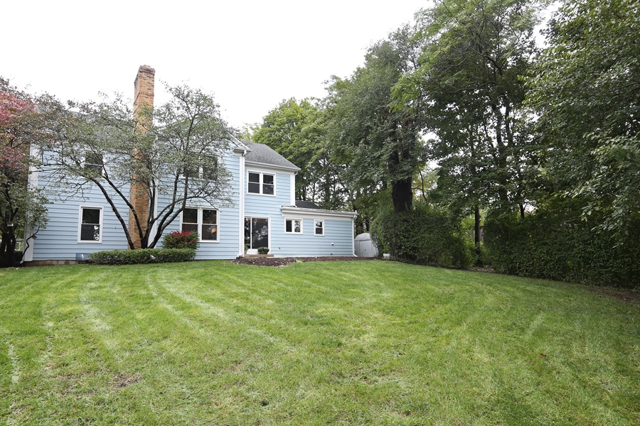 Real Estate Photography - 9 Hamill Lane, Clarendon Hills, IL, 60514 - Back of Home