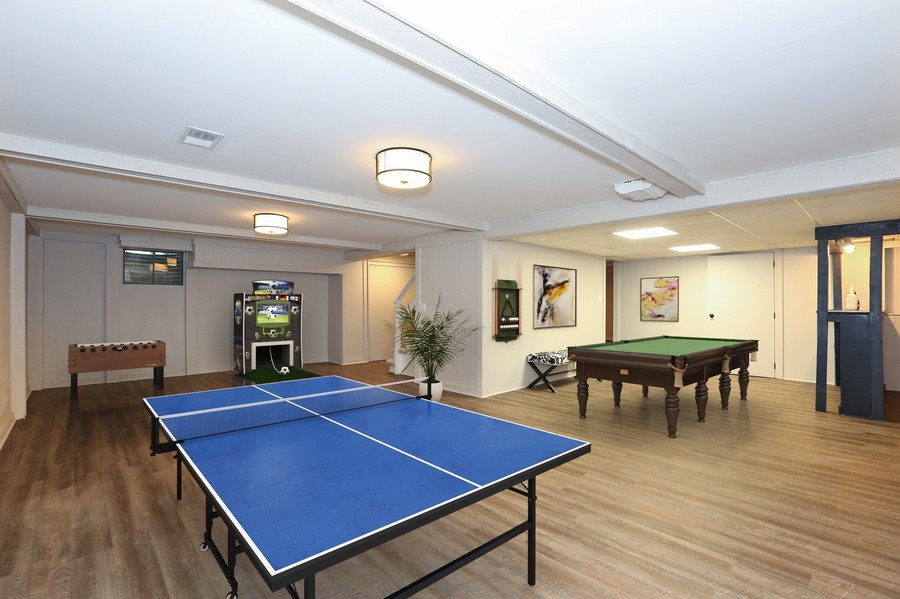 Real Estate Photography - 9 Hamill Lane, Clarendon Hills, IL, 60514 - Recreation Room