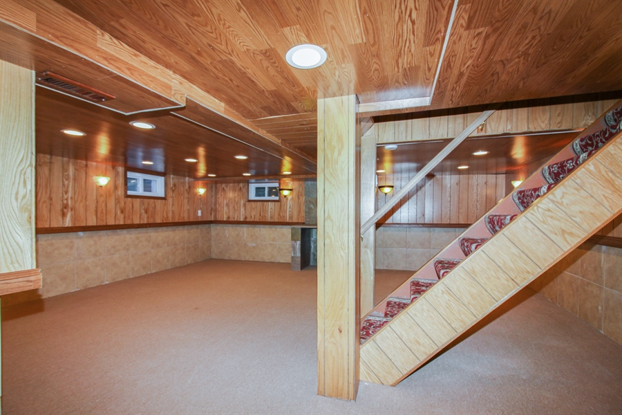 Real Estate Photography - 1210 WESTMORE MEYERS, LOMBARD, IL, 60148 - Basement