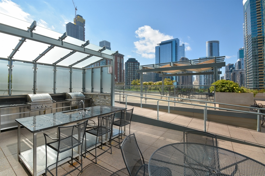 Real Estate Photography - 474 N Lake Shore Dr, 4504, Chicago, IL, 60611 - Terrace 3
