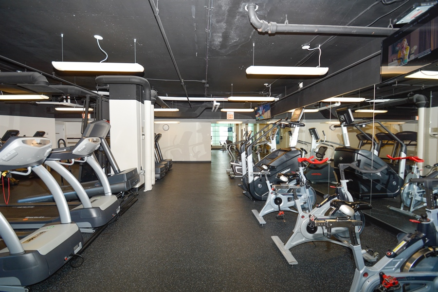 Real Estate Photography - 474 N Lake Shore Dr, 4504, Chicago, IL, 60611 - Gym