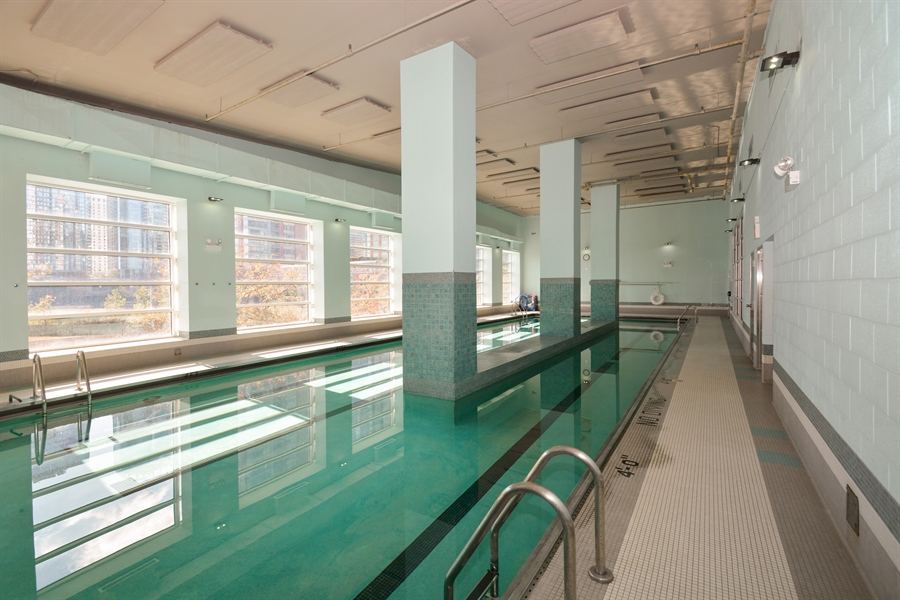 Real Estate Photography - 474 N Lake Shore Dr, 4504, Chicago, IL, 60611 - Pool