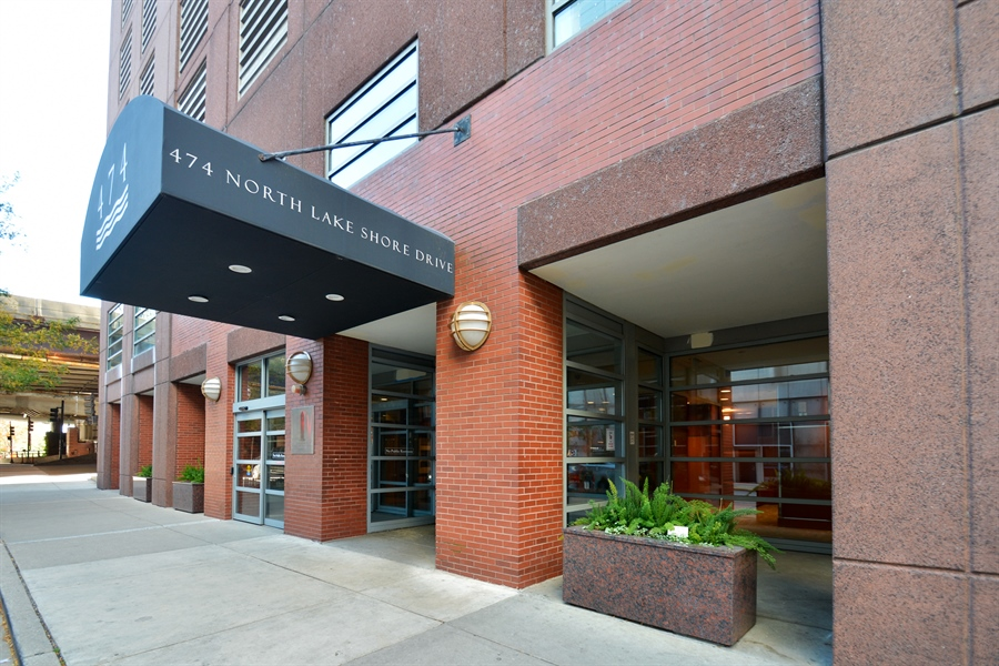 Real Estate Photography - 474 N Lake Shore Dr, 4504, Chicago, IL, 60611 - Front View