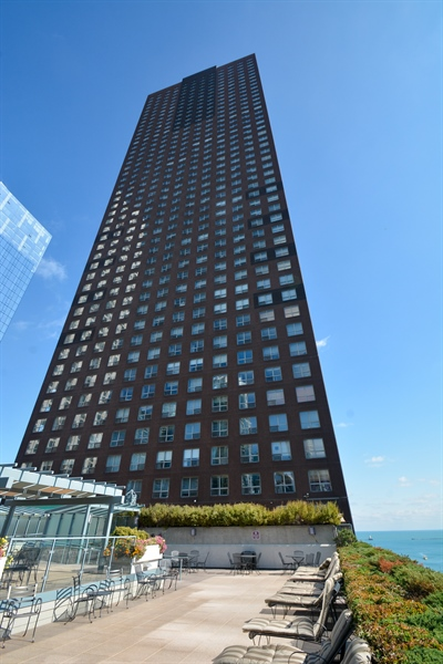Real Estate Photography - 474 N Lake Shore Dr, 4504, Chicago, IL, 60611 - Rear View