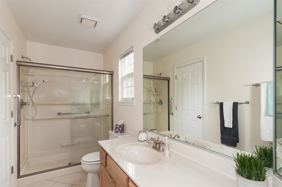 Real Estate Photography - 2082 Wildwood Ln., Hanover Park, IL, 60133 - Master Bathroom