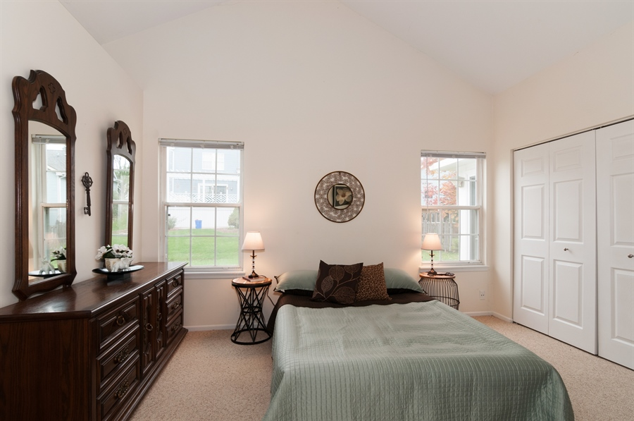 Real Estate Photography - 2082 Wildwood Ln., Hanover Park, IL, 60133 - Master Bedroom