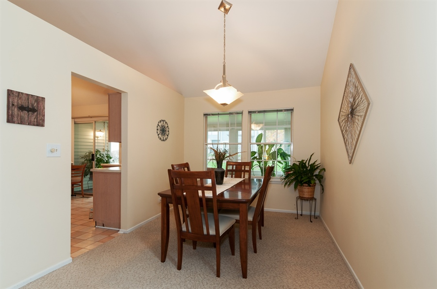 Real Estate Photography - 2082 Wildwood Ln., Hanover Park, IL, 60133 - Dining Room