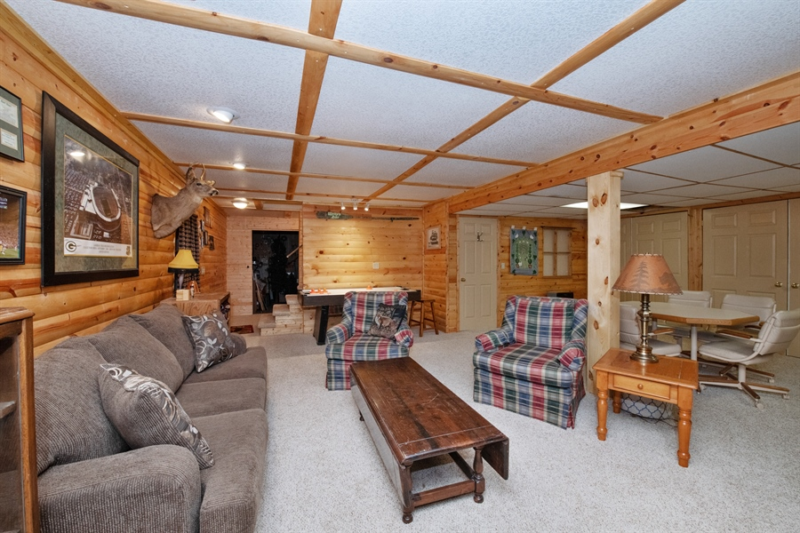 Real Estate Photography - W3341 Spring Drive, Campbellsport, WI, 53010 - Living Room