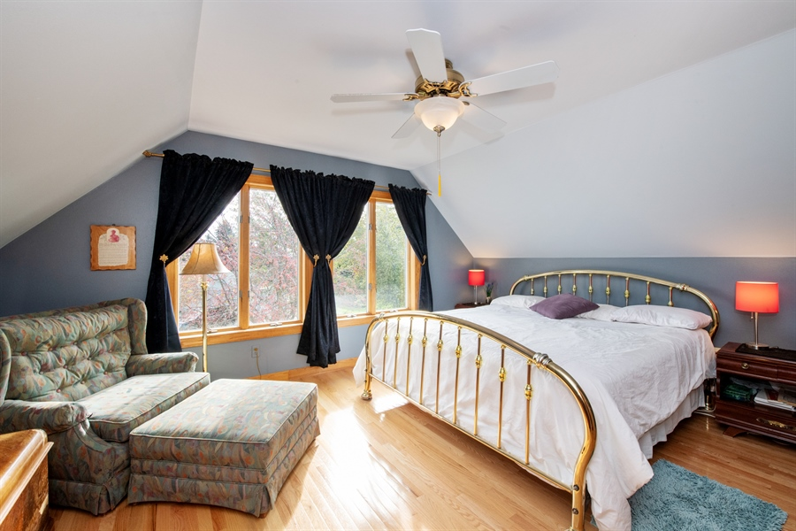 Real Estate Photography - W3341 Spring Drive, Campbellsport, WI, 53010 - Master Bedroom