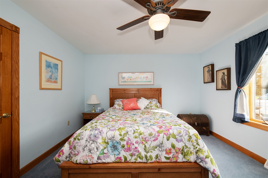 Real Estate Photography - W3341 Spring Drive, Campbellsport, WI, 53010 - 2nd Bedroom