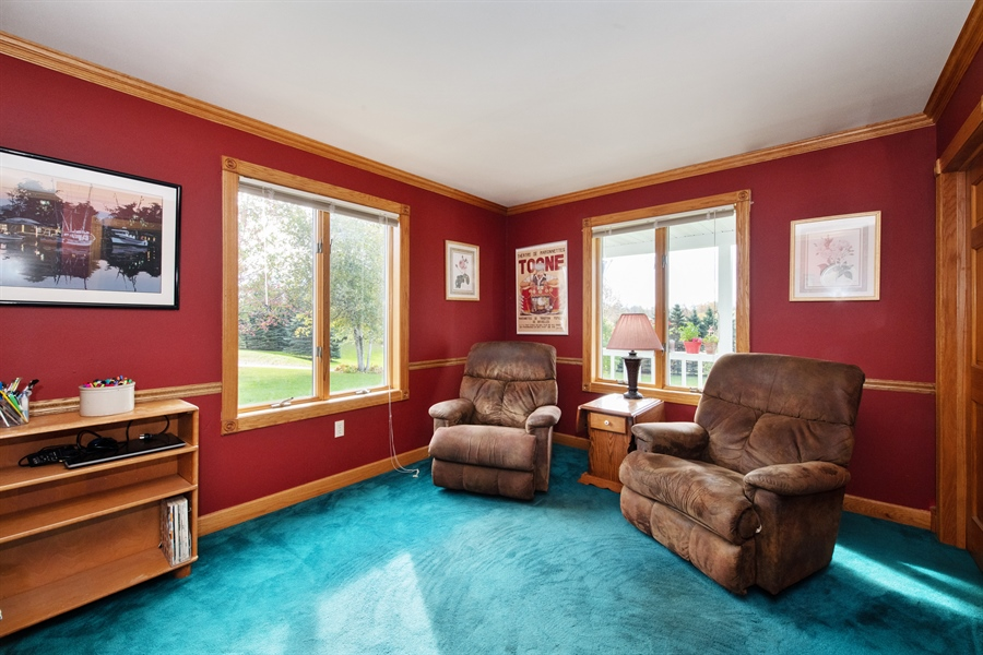Real Estate Photography - W3341 Spring Drive, Campbellsport, WI, 53010 - Bonus Room