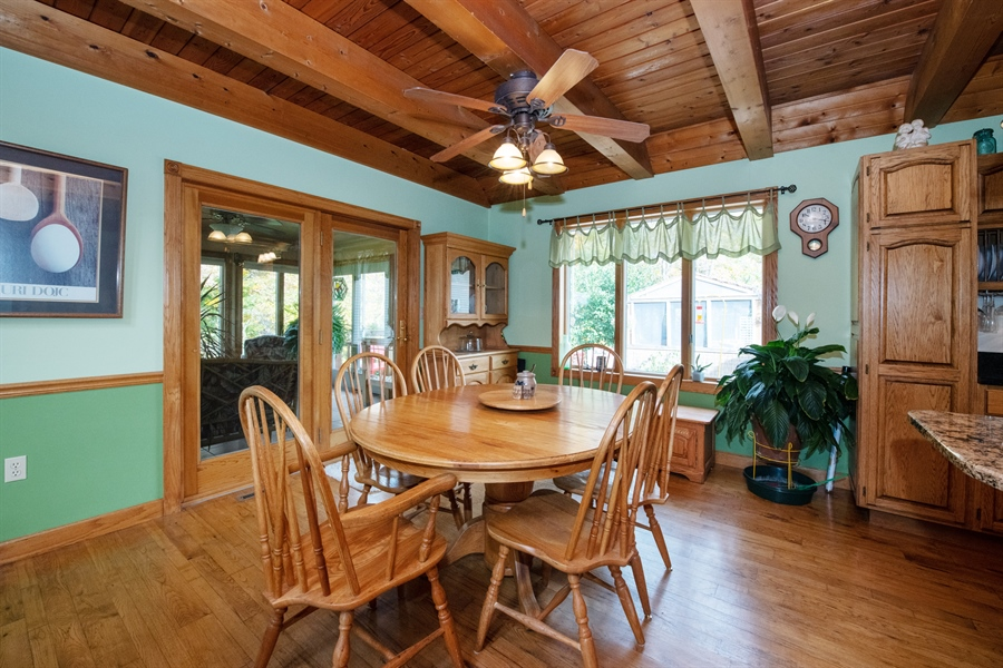 Real Estate Photography - W3341 Spring Drive, Campbellsport, WI, 53010 - Dining Room