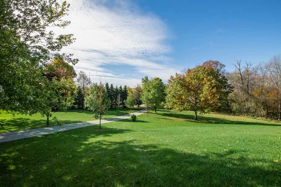 Real Estate Photography - W3341 Spring Drive, Campbellsport, WI, 53010 - Front Yard