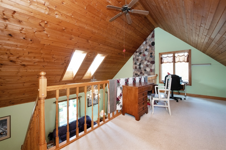 Real Estate Photography - W3341 Spring Drive, Campbellsport, WI, 53010 - Family Room
