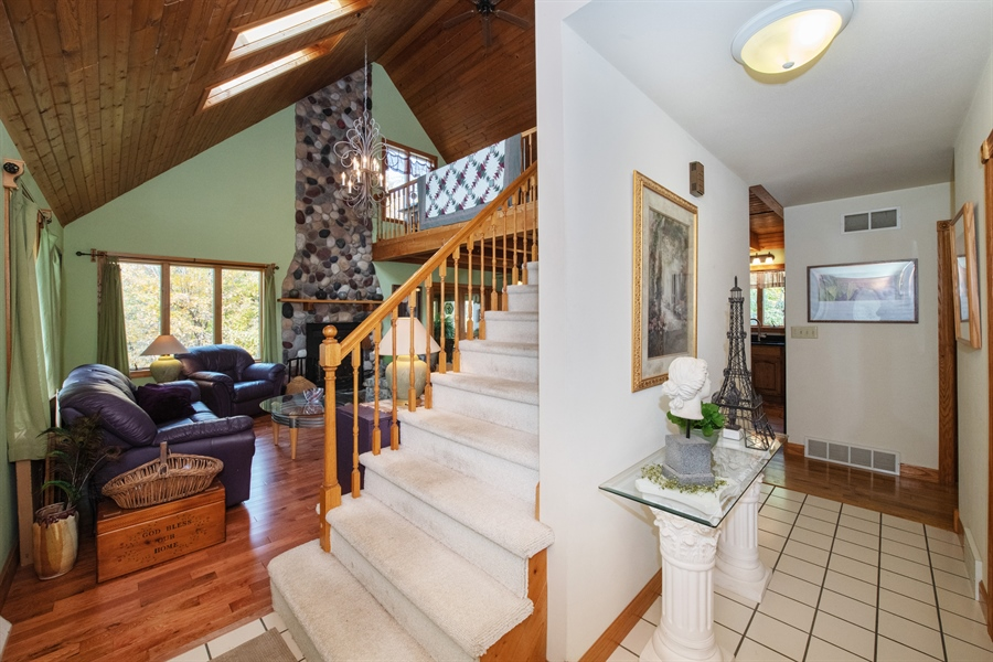 Real Estate Photography - W3341 Spring Drive, Campbellsport, WI, 53010 - Foyer